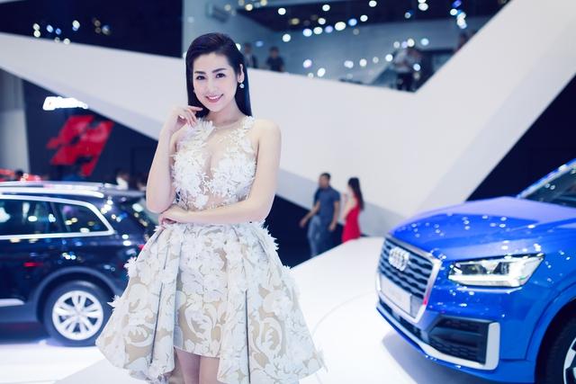 Á hậu Dương Tú Anh - đại sứ thương hiệu Audi A4.