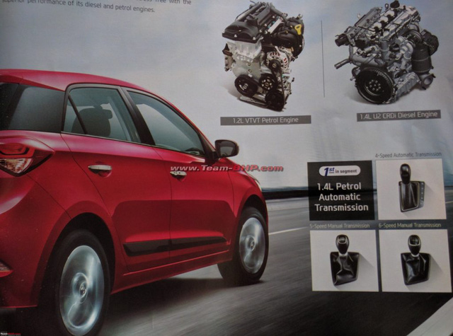 Hyundai i20 AT sử dụng động cơ xăng 1,4 lít và hộp số tự động 4 cấp.