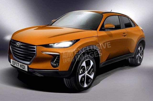 Hình ảnh phác họa mẫu SUV cao cấp mới nhà Hyundai