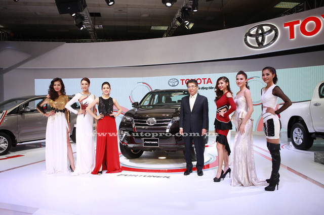 Toyota Fortuner 2016 sẽ là tâm điểm đáng chú ý tại triển lãm VMS 2016.