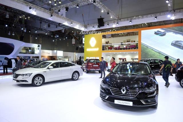Renault Talisman trở thành đối thủ mới của Toyota Camry trong phân khúc xe sedan hạng D.