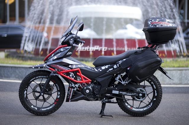 Honda Winner 150 là mẫu xe côn tay Honda Việt Nam ra mắt thị trường Việt vào hồi tháng 6/2016 vừa qua. Cho tới nay, hãng lại ra mắt 1 phiên bản độ cực chất mang phong cách Adventure tại Việt Nam.
