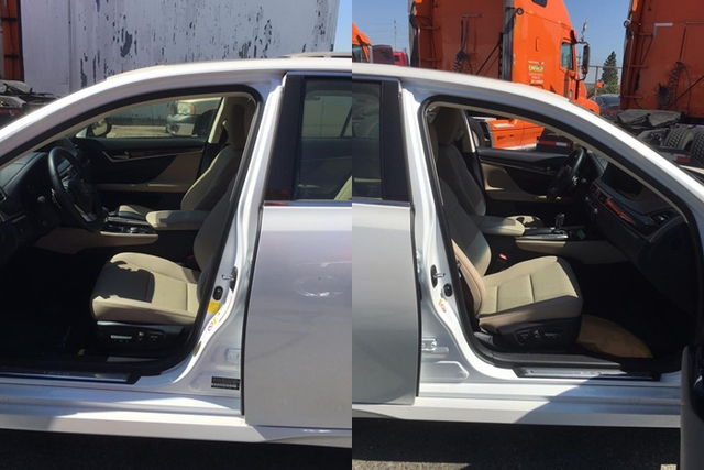 Nội thất của chiếc Lexus GS200t 2016 đầu tiên xuất hiện tại Việt Nam.