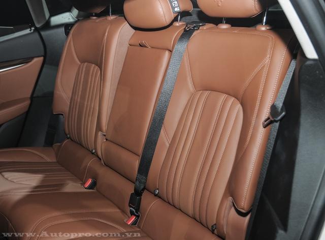 Khách hàng có thể tùy chọn 1 trong 28 màu sắc nội thất khi mua Maserati Levante.