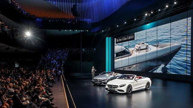 Vén màn dàn xe 2 cửa hấp dẫn của Mercedes Benz tại VIMS 2016 - Ảnh 1.