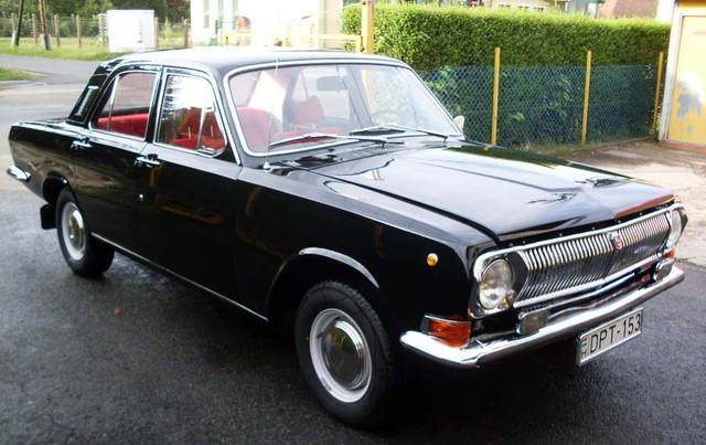 Volga M24 - Xe tiêu chuẩn dành cho bộ trưởng thời bao cấp