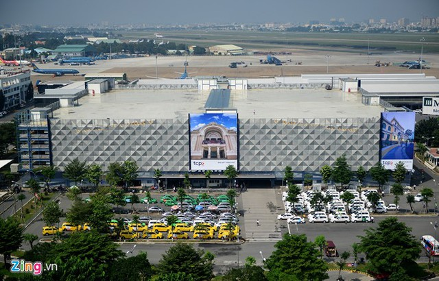 Nhà để xe 5 sao ở sân bay Tân Sơn Nhất - Ảnh 1.