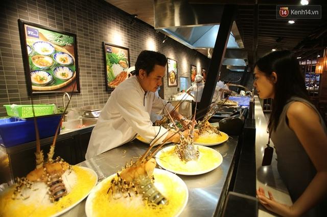 Khu vực ăn uống hiện đại cùng nhiều thực đơn hấp dẫn.