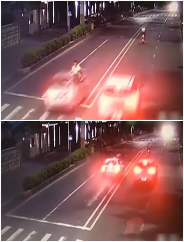 Người điều khiển xe máy đã chết ngay tại chỗ.