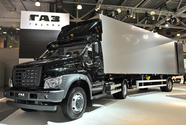 GAZon Next LDTđạt giải vàng tại hội chợ xe tải quốc tế