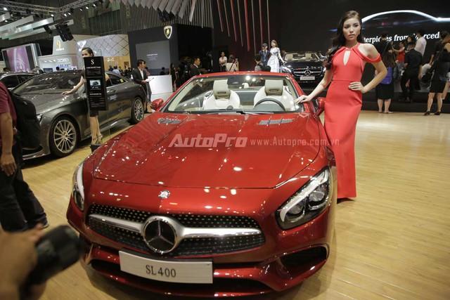 Mercedes-Benz gây choáng ngợp VIMS 2016 bằng dàn xe hot và nhan sắc Hoa hậu Kỳ Duyên - Ảnh 6.
