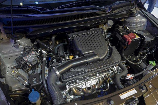 Suzuki Ciaz động cơ K14B với dung tích 1.373cc, công suất cực đại 68/6.000 kw/rpm, mô men xoắn cực đại 130/4.000 Nm/rpm.