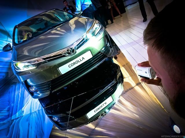 Toyota Corolla 2017 từng ra mắt tại Nga