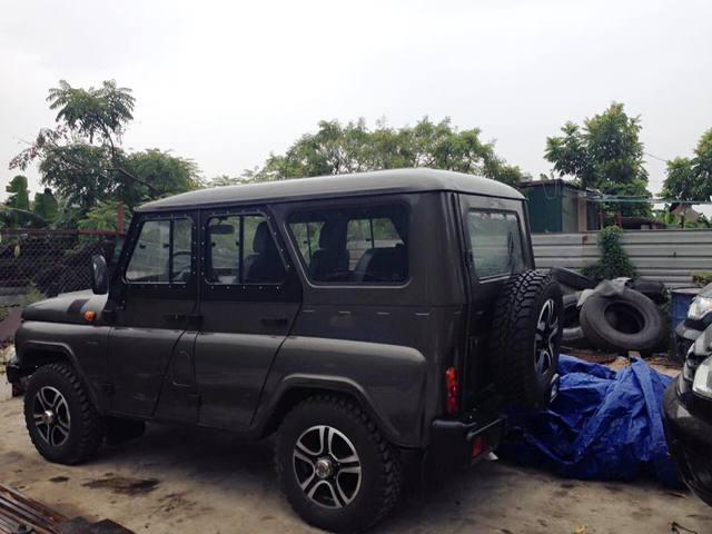 Xe Offroad Nga UAZ Hunter hưởng mức thuế nhập khẩu 0% xuất hiện tại Sài Gòn - Ảnh 3.