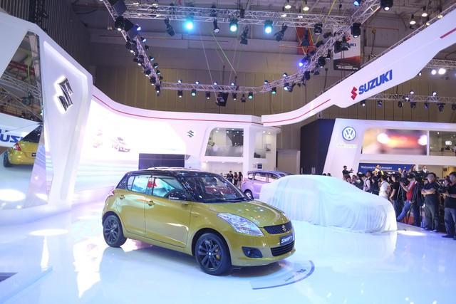 Suzuki Swift, mẫu xe đã rất quen thuộc với người tiêu dùng Việt Nam.
