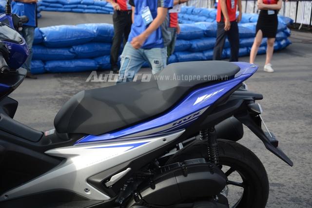 NVX 155 sẽ là tên gọi của mẫu xe tay ga thể thao cao cấp tại thị trường Việt Nam và Malaysia. Trong khi đó, tại hai thị trường Indonesia và Thái Lan, xe có tên gọi Aerox.