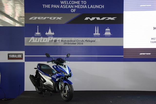 Vào trưa nay, ngày 29/10/2016, tại trường đua Sepang, Malaysia, Yamaha đã tổ chức buổi họp báo ra mắt dòng xe tay ga hoàn toàn mới mang tên gọi NVX 155 tại thị trường Việt Nam và Malaysia. Trong khi đó, tại hai thị trường Indonesia và Thái Lan, xe có tên gọi Aerox.