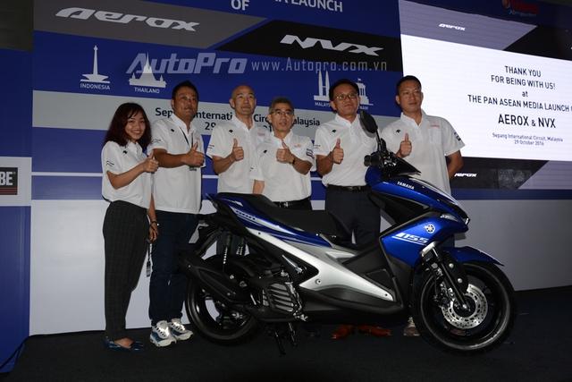 Theo chia sẻ từ đại diện Yamaha Việt Nam, NVX 155 sẽ ra mắt các khách hàng Việt vào tháng 12 tới đây. Hiện mức giá bán của xe vẫn chưa được tiết lộ. Đây chính là mẫu xe ga sẽ thay thế đàn anh Nouvo tại Việt Nam.