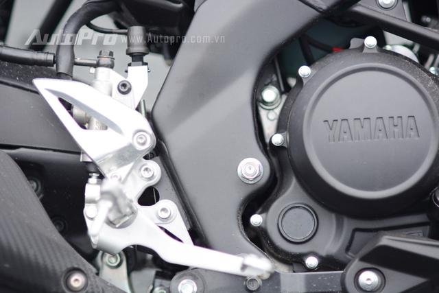 Yamaha TFX 150 sử dụng động cơ 4 thì, xi-lanh đơn, SOHC, làm mát bằng chất lỏng, dung tích 150 phân khối, sản sinh công suất tối đa 17 mã lực tại vòng tua máy 8.500 vòng/phút và mô-men xoắn cực đại 15 Nm tại 7.500 vòng/phút.