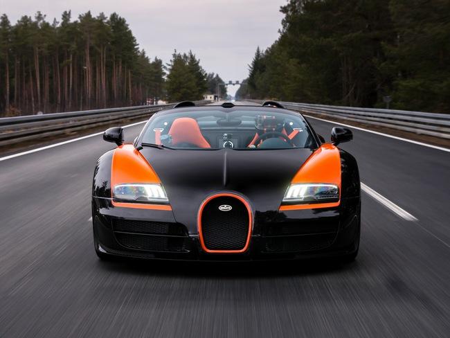 Xem Veyron Grand Sport Vitesse lập kỷ lục tốc độ 1