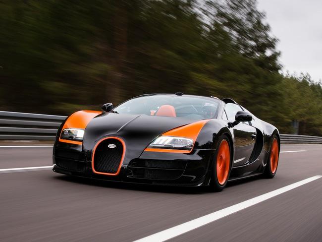 Xem Veyron Grand Sport Vitesse lập kỷ lục tốc độ 2