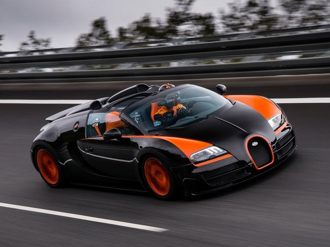Xem Veyron Grand Sport Vitesse lập kỷ lục tốc độ 5