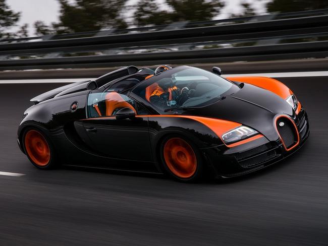 Xem Veyron Grand Sport Vitesse lập kỷ lục tốc độ 6