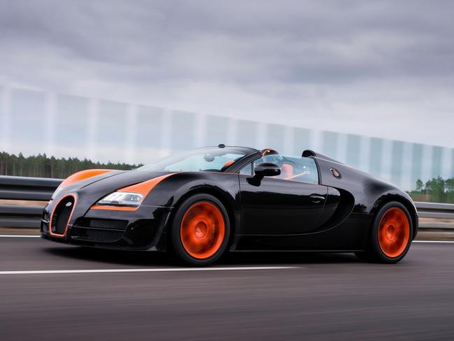 Xem Veyron Grand Sport Vitesse lập kỷ lục tốc độ 7