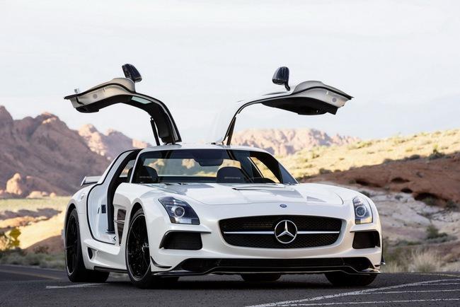 Mercedes-Benz công bố giá bán SLS AMG GT và Black Series tại Anh quốc 2