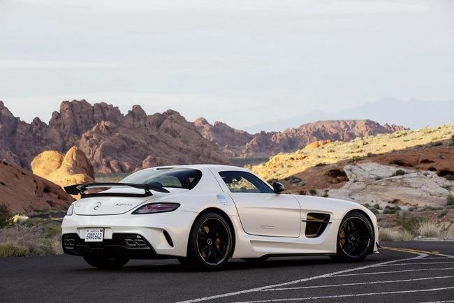Mercedes-Benz công bố giá bán SLS AMG GT và Black Series tại Anh quốc 5