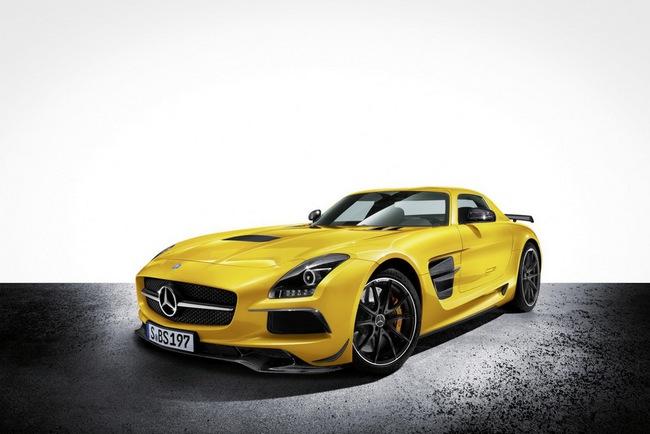 Mercedes-Benz công bố giá bán SLS AMG GT và Black Series tại Anh quốc 7