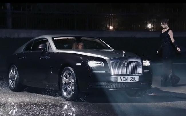 Rolls-Royce Wraith: Đẳng cấp ngay từ quảng cáo 5