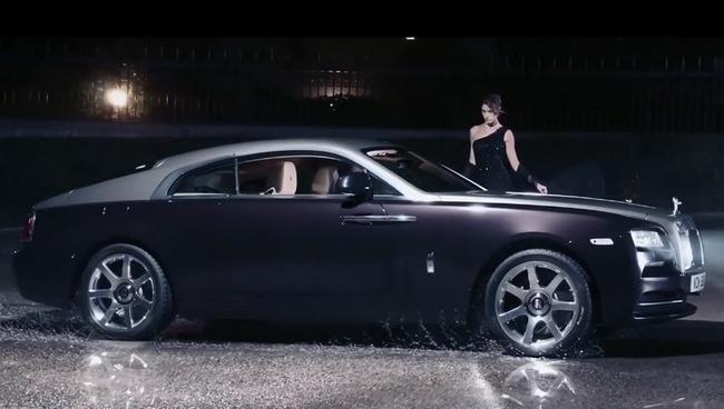 Rolls-Royce Wraith: Đẳng cấp ngay từ quảng cáo 6