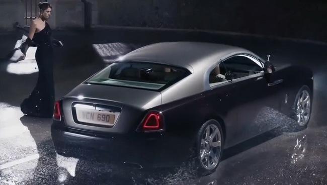 Rolls-Royce Wraith: Đẳng cấp ngay từ quảng cáo 8