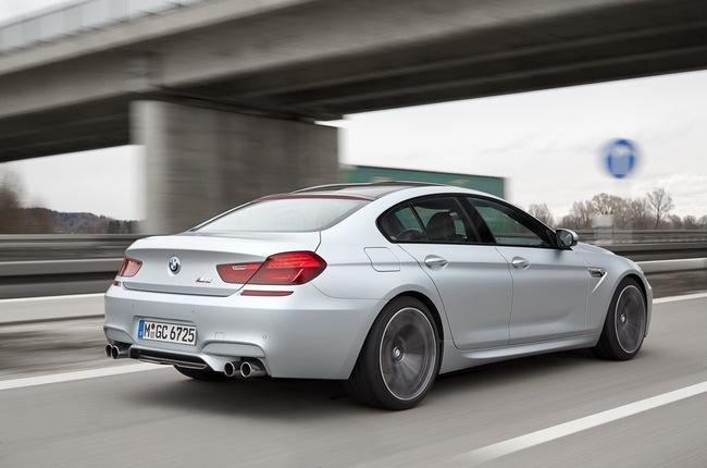 BMW M6 Gran Coupe 2014 đến Mỹ với giá từ 115.225 USD 11