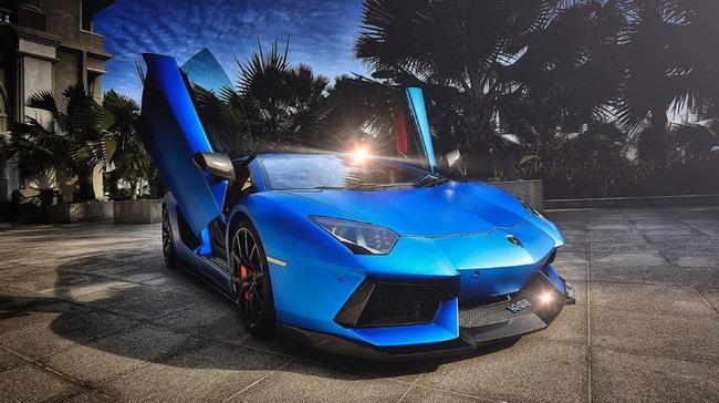 Tuyệt phẩm Lamborghini Aventador độ 900 mã lực của DMC 1