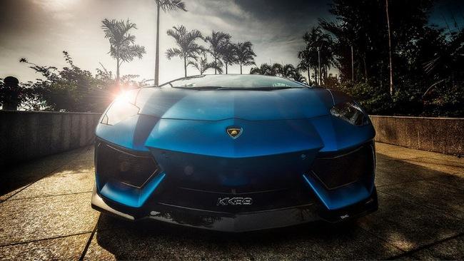 Tuyệt phẩm Lamborghini Aventador độ 900 mã lực của DMC 2