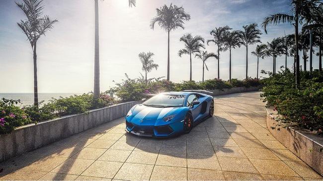 Tuyệt phẩm Lamborghini Aventador độ 900 mã lực của DMC 5