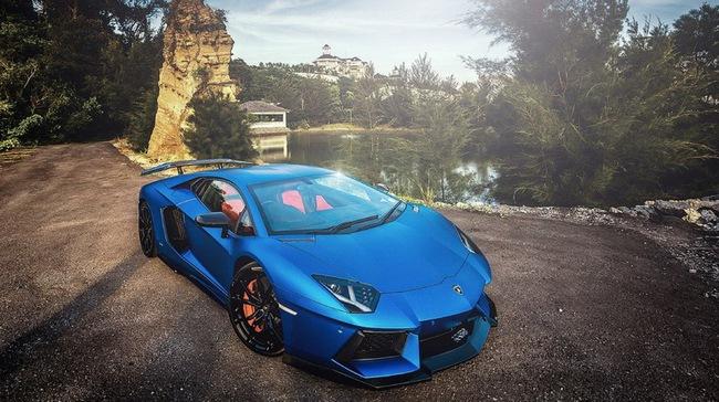 Tuyệt phẩm Lamborghini Aventador độ 900 mã lực của DMC 6
