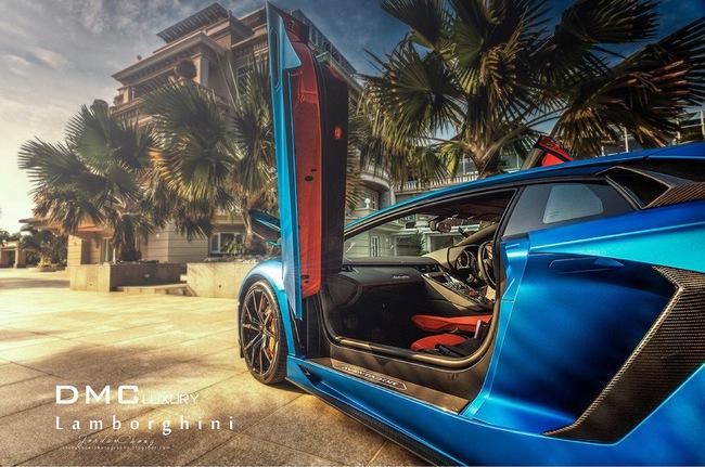 Tuyệt phẩm Lamborghini Aventador độ 900 mã lực của DMC 9