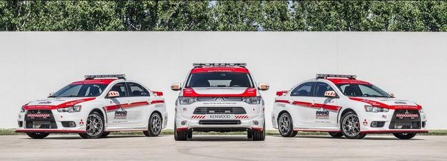 Mitsubishi được chọn làm xe an toàn tại Pikes Peak Hill Climb 1