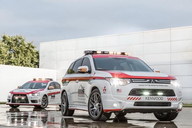 Mitsubishi được chọn làm xe an toàn tại Pikes Peak Hill Climb 2
