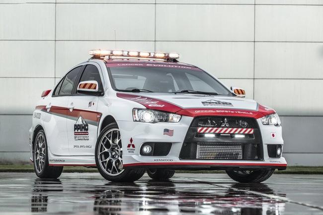 Mitsubishi được chọn làm xe an toàn tại Pikes Peak Hill Climb 3