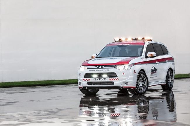 Mitsubishi được chọn làm xe an toàn tại Pikes Peak Hill Climb 4