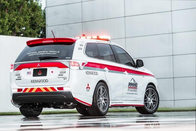 Mitsubishi được chọn làm xe an toàn tại Pikes Peak Hill Climb 5