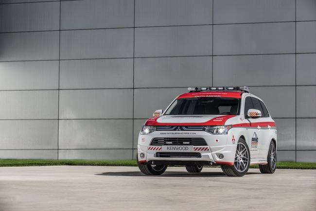 Mitsubishi được chọn làm xe an toàn tại Pikes Peak Hill Climb 6