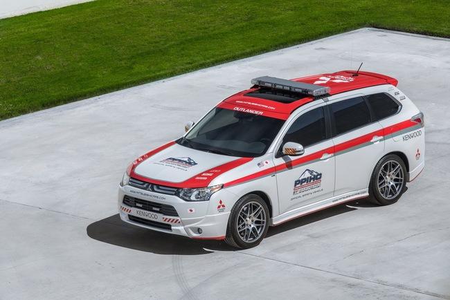 Mitsubishi được chọn làm xe an toàn tại Pikes Peak Hill Climb 7