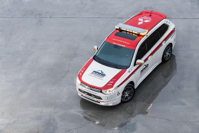 Mitsubishi được chọn làm xe an toàn tại Pikes Peak Hill Climb 8