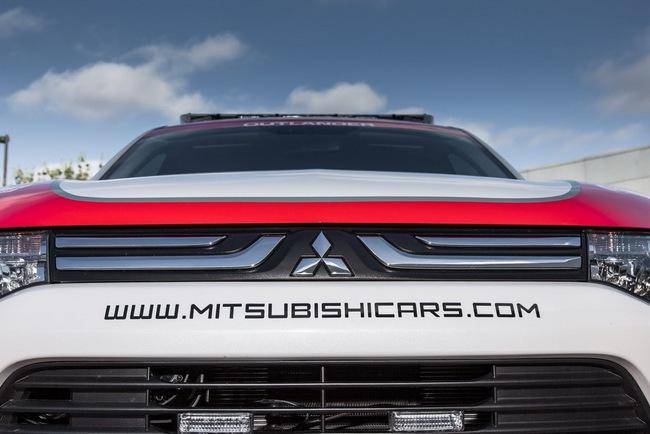 Mitsubishi được chọn làm xe an toàn tại Pikes Peak Hill Climb 9