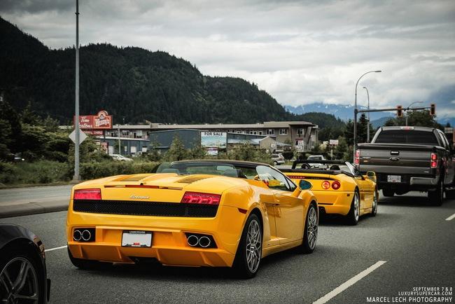 Hành trình siêu xe Canada 12